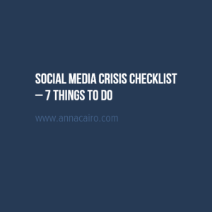 social-media-crisis-checklist